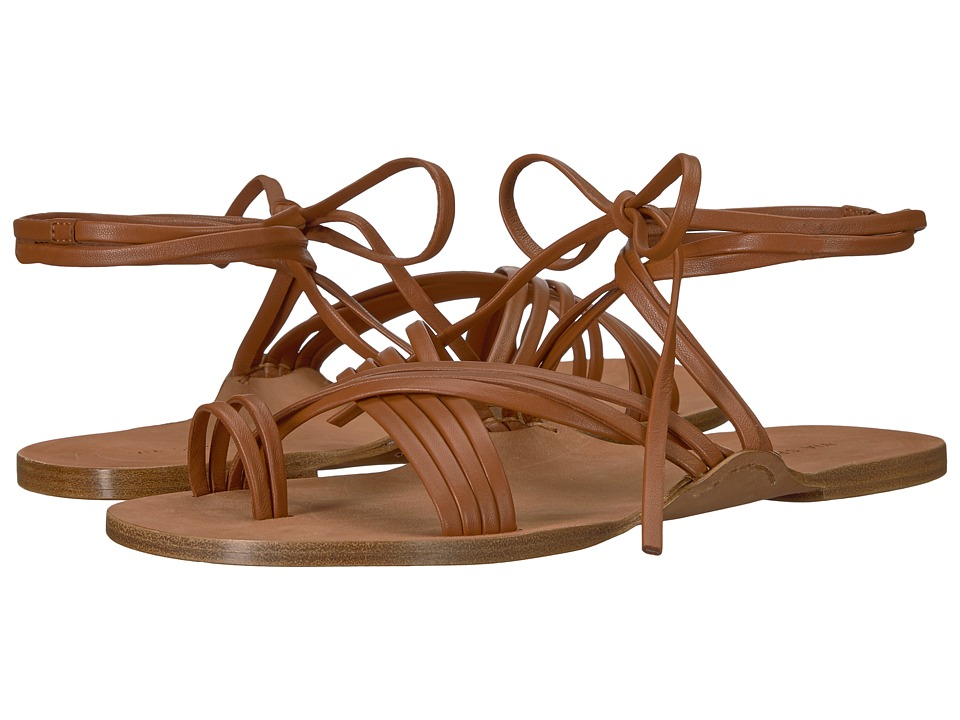 Via Spiga - Allegra (Nutmeg Leather) Womens Sandals