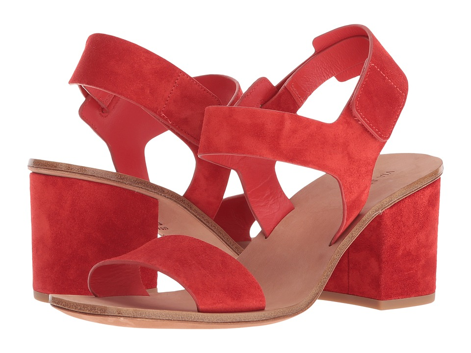 Via Spiga Kamille (Poppy Red Suede) Women's Shoes