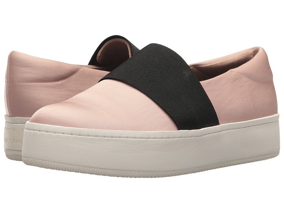 Via Spiga Traynor (Blush Canvas) Women's Shoes