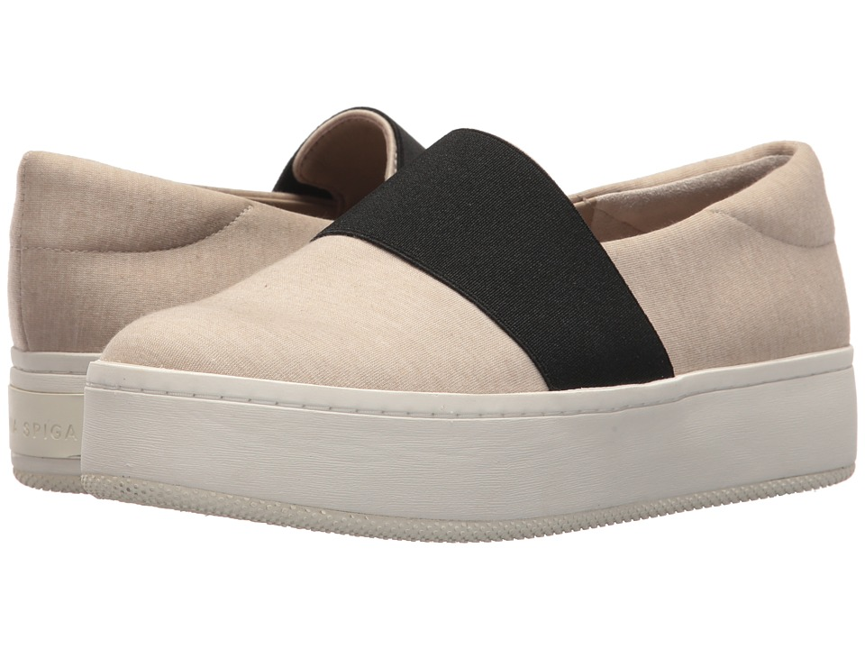 Via Spiga Traynor (Oatmeal Jersey) Women's Shoes