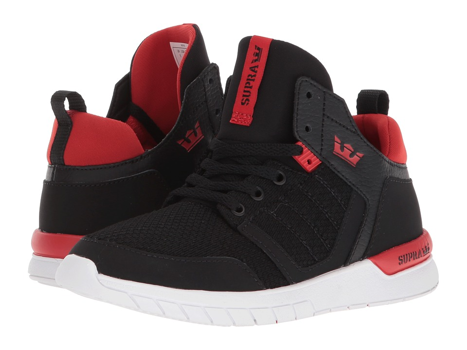 Supra Kids - Method (Little Kid) (Black/Risk Red/White) B...
