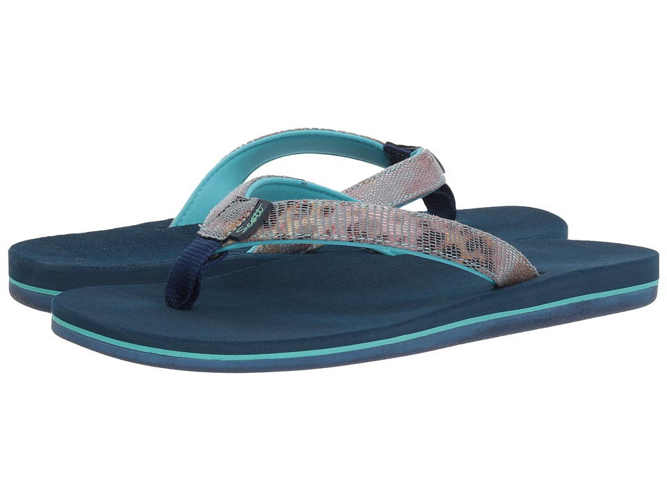 Scott Hawaii Hulili (Blue) Sandals