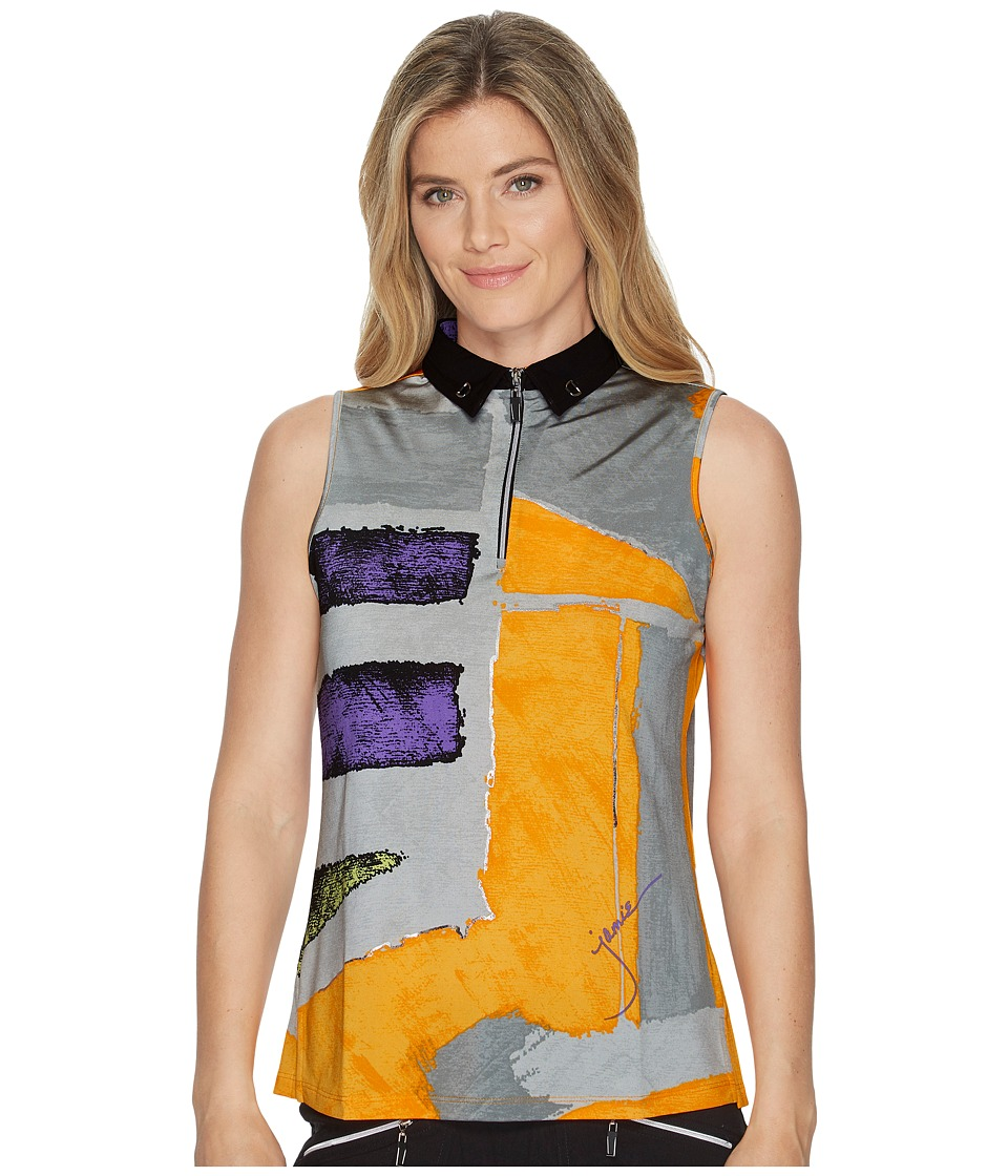 Jamie Sadock - Osaka Print Sleeveless Top (Apache) Womens Sleeveless