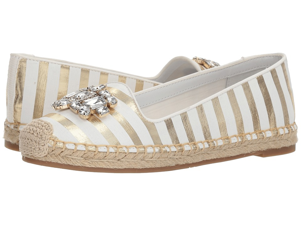 GUESS - Gill (Gold Synthetic) Womens Flat Shoes