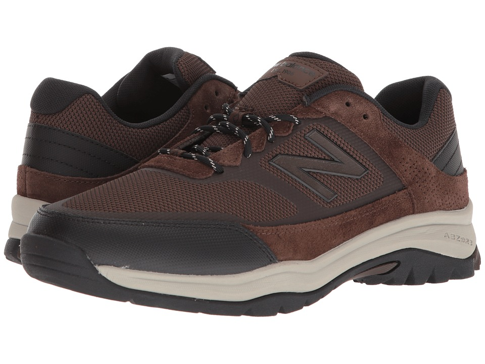 New Balance - MW669v1 (Chocolate Brown/Chocolate Brown) Mens Walking Shoes