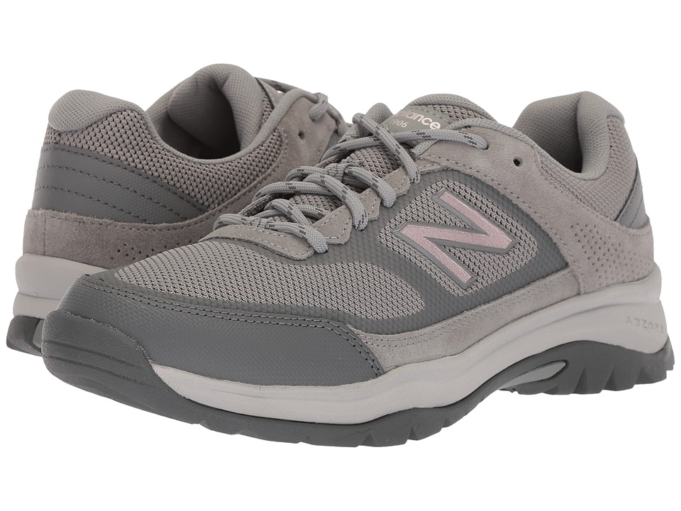 New Balance - WW669v1 (Grey/Rose Gold) Womens Walking Shoes
