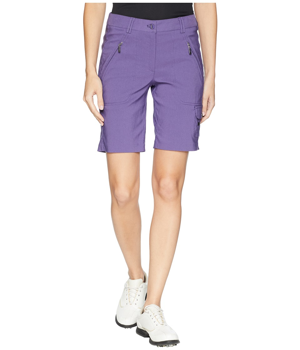 Jamie Sadock - Fly Front 19 in. Shorts (Aubergine) Womens Shorts
