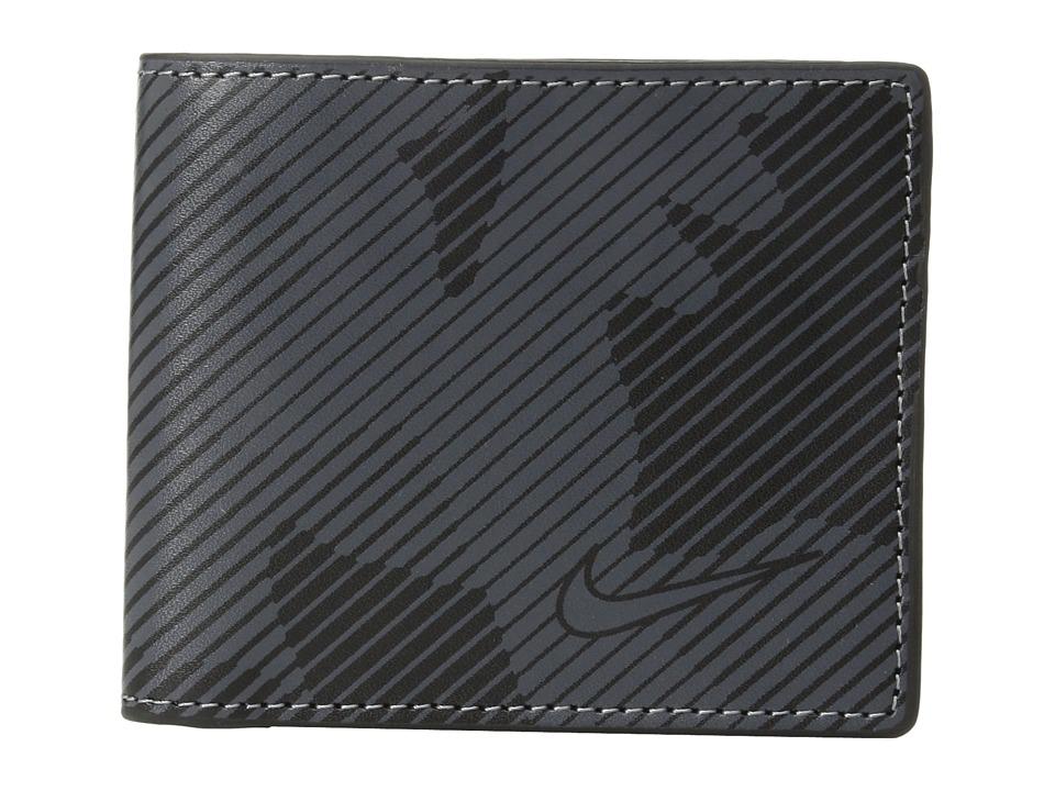 Nike - Camo Billfold Wallet (Black) Wallet Handbags