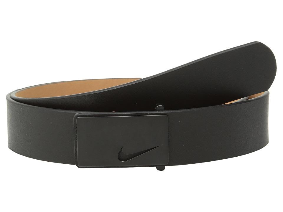 Nike - Tonal Sleek Modern (Black) Womens Belts