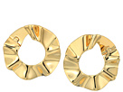 Kate Spade New York Frilled To Pieces Bipass Hoop Earrings