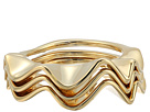 Kate Spade New York Frilled To Pieces Stackable Ring Set