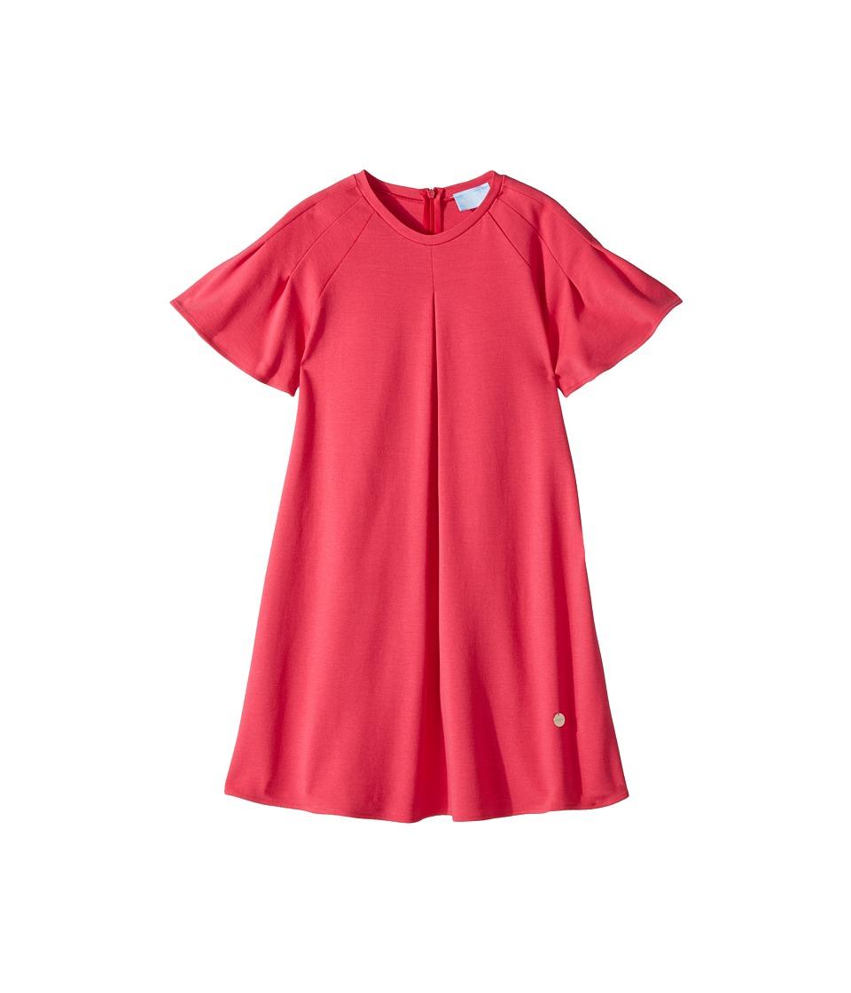 Lanvin Kids - Jersey Flare Dress (Little Kids/Big Kids) (Hot Pink) Girls Dress