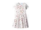 Lanvin Kids Bloom Short Sleeve Dress (Big Kids)