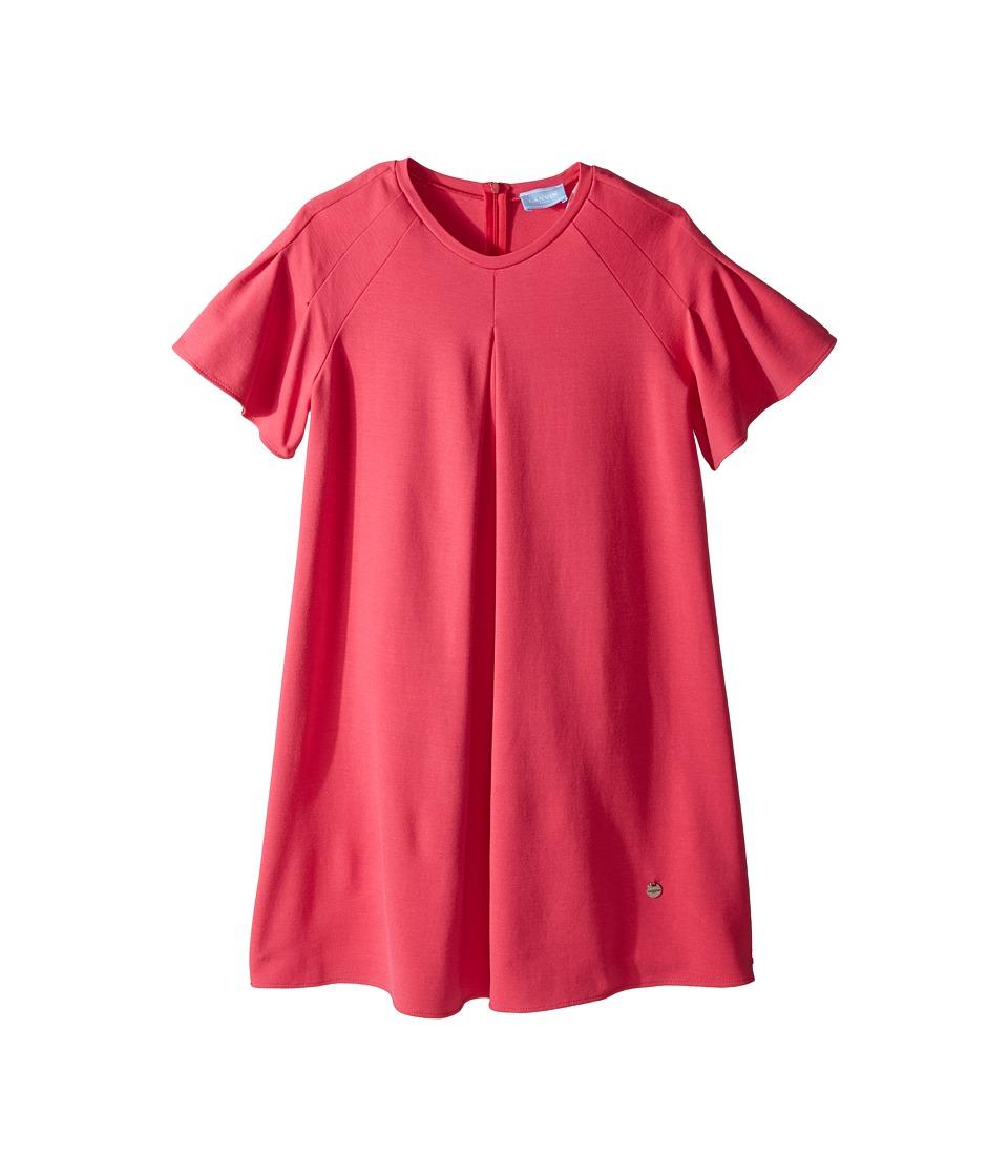 Lanvin Kids - Jersey Flare Dress (Big Kids) (Hot Pink) Girls Dress