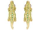 Kate Spade New York Swamped Pave Alligator Stud Earrings