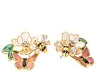 Kate Spade New York Swamped Cluster Stud Earrings