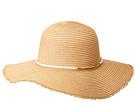 San Diego Hat Company San Diego Hat Company PBL3087OS Paperbraid Floppy w/ Gold Bar Trim