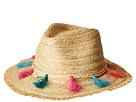 San Diego Hat Company San Diego Hat Company UBF1104OS Fedora w/ Multi Color Tassels