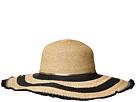 San Diego Hat Company UBL6802OS Ultrabraid/Raffia Braid Sunbrim w/ Gold Chain