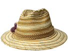 San Diego Hat Company PBF7320OS Fedora w/ Paper Pattern and Triple Poms