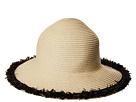 San Diego Hat Company San Diego Hat Company PBM1042OS Paperbraid w/ Pop Color Frayed Raffia