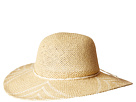 San Diego Hat Company PBL3095OS Woven Paper Sun Brim w/ Color Pop Pattern