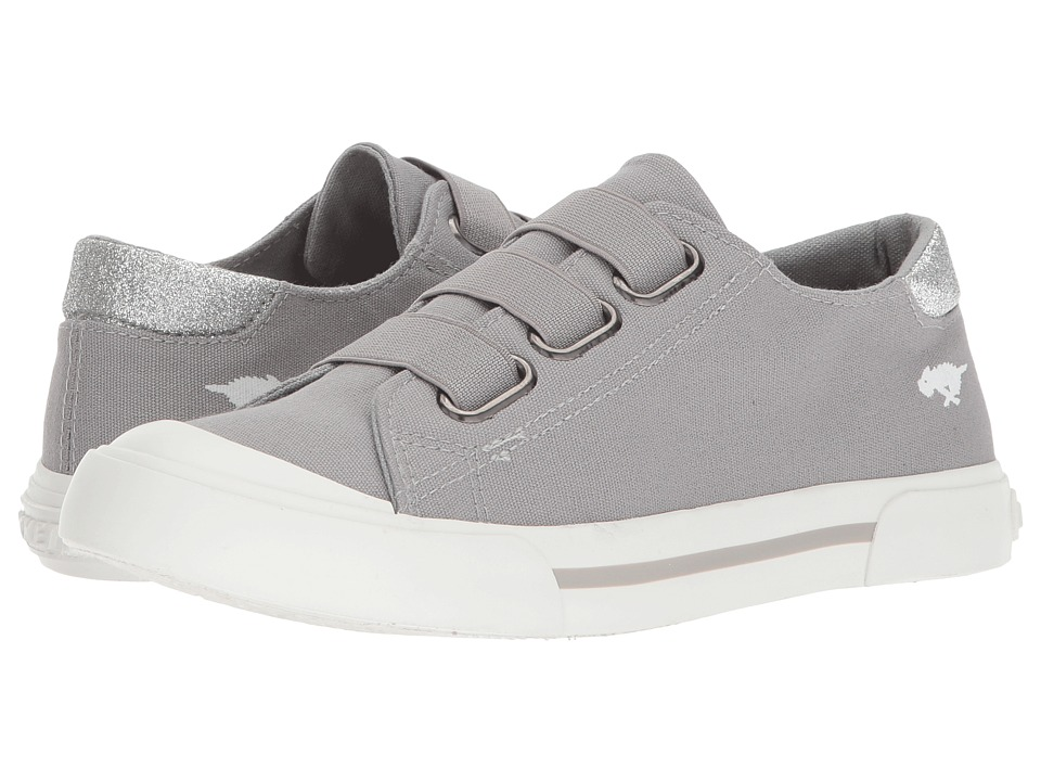 Rocket Dog Jamaica (Grey 8A Canvas/Star Dust) Women's Hook and Loop Shoes