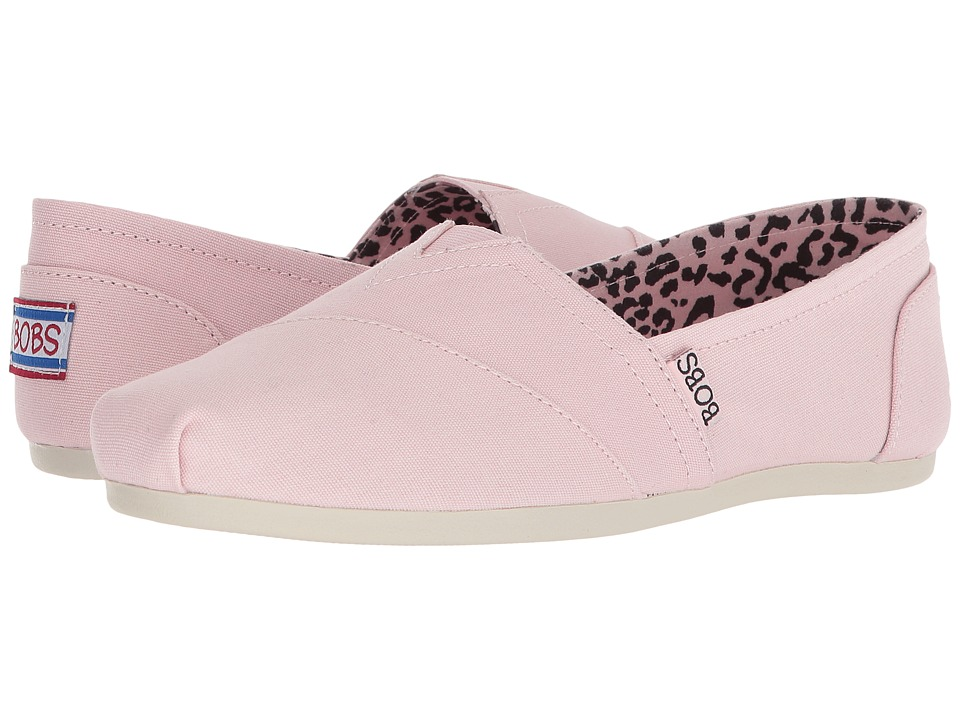 BOBS from SKECHERS Bobs Plush - Peace and Love (Pink) Women's Shoes