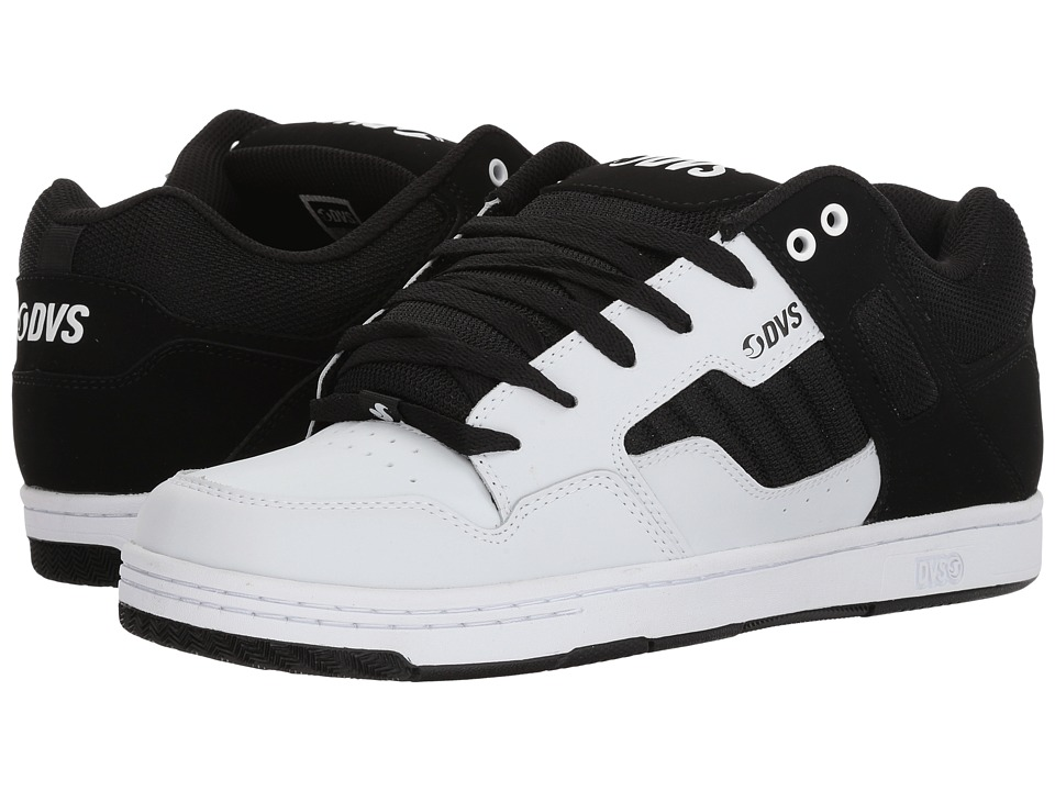 DVS Shoe Company - Enduro 125 (White/Black) Mens Skate Shoes