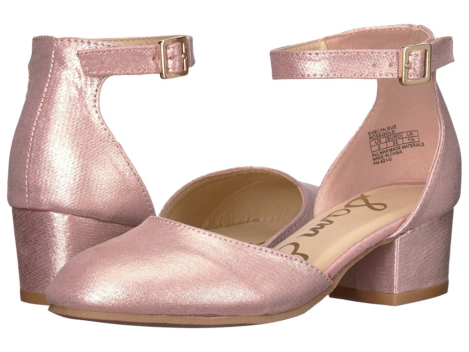 Sam Edelman Kids - Evelyn Sue (Little Kid/Big Kid) (Rose Gold) Girls Shoes