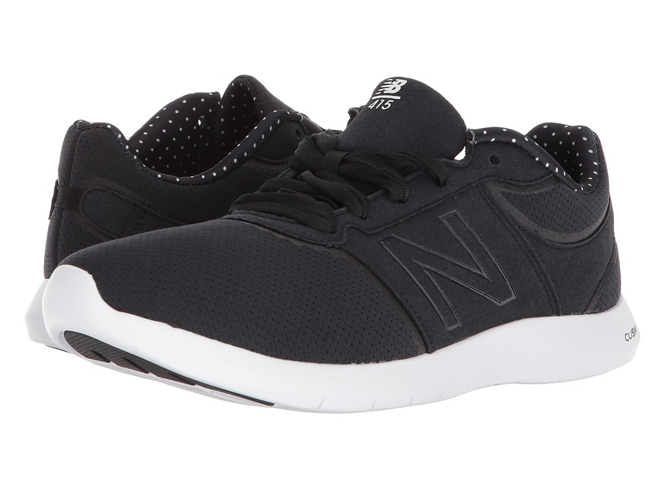 New Balance WL415v1 (Black/White) Women's Shoes