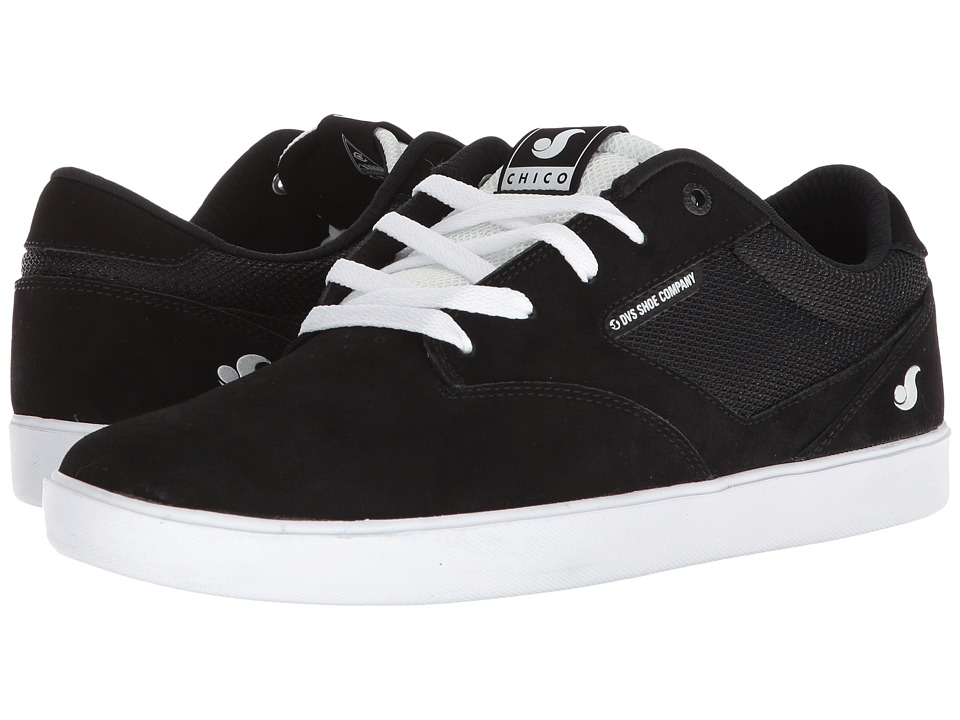 DVS Shoe Company - Pressure SC+ (Black/White) Mens Skate Shoes
