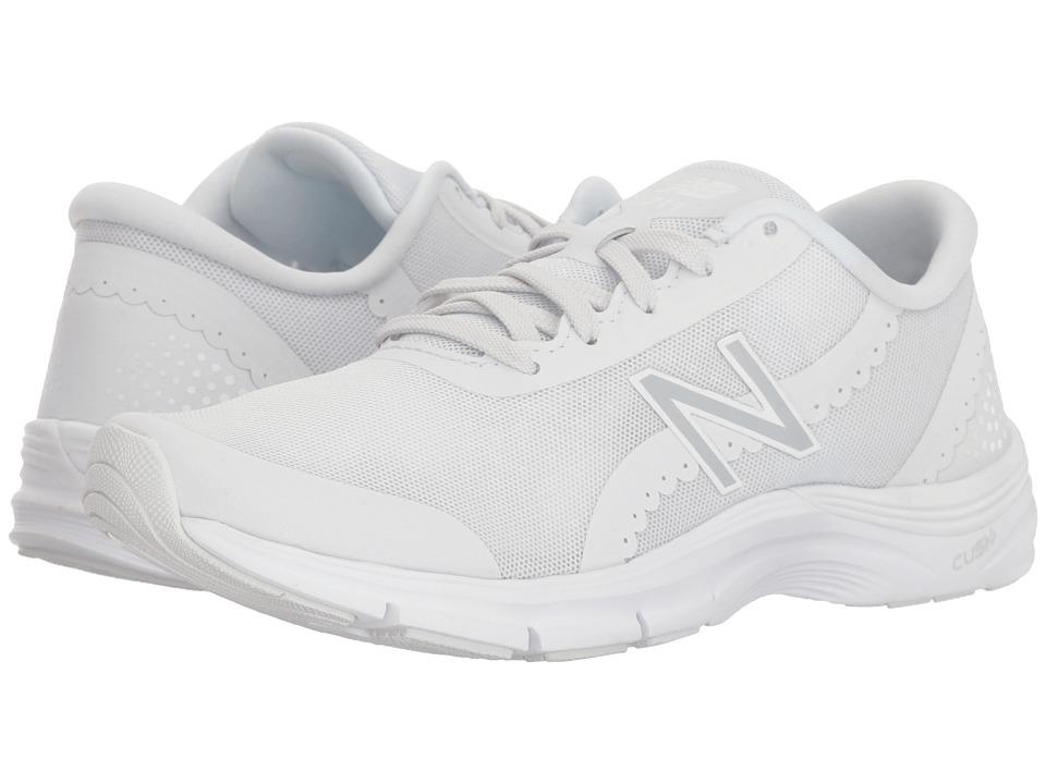 New Balance - WX711v3 (Arctic Fox/White) Womens Cross Training Shoes