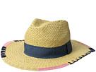 San Diego Hat Company PBF7330OS Fedora w/ Brim Pattern and Grosgrain Band