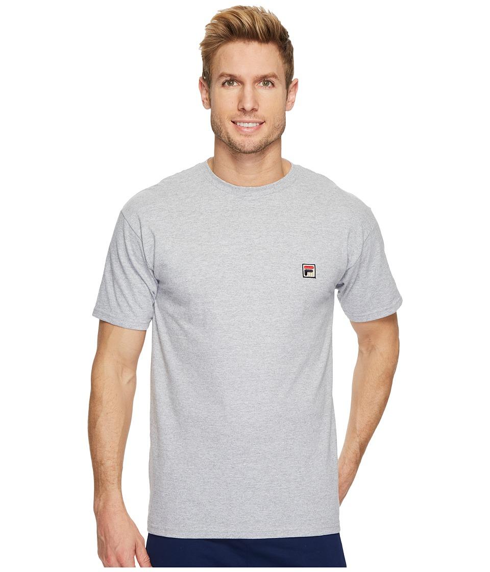 Fila F Box T-Shirt (Grey Heather) Men