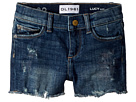 DL1961 Kids Lucy Denim Distressed Cut Off Shorts in Liberty (Toddler/Little Kids)