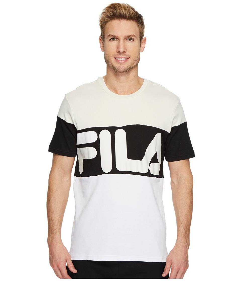 Fila Vialli T-Shirt (Birch/Black/White) Men