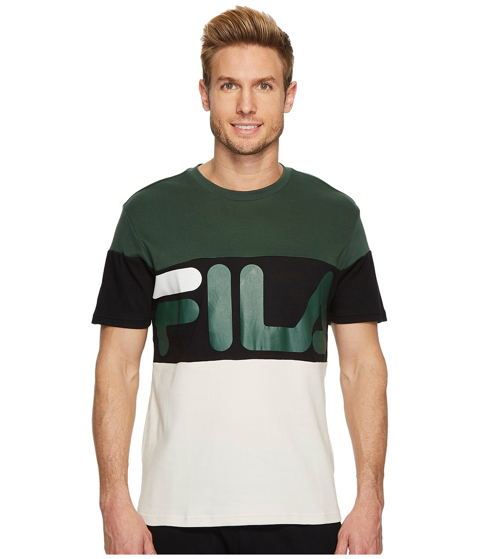 Fila Vialli T-Shirt (Sycamore/Black.Birch) Men