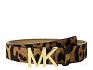 MICHAEL Michael Kors Leopard Haircalf Logo Belt
