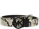 MICHAEL Michael Kors Fulton Smooth to Logo Reversible Belt