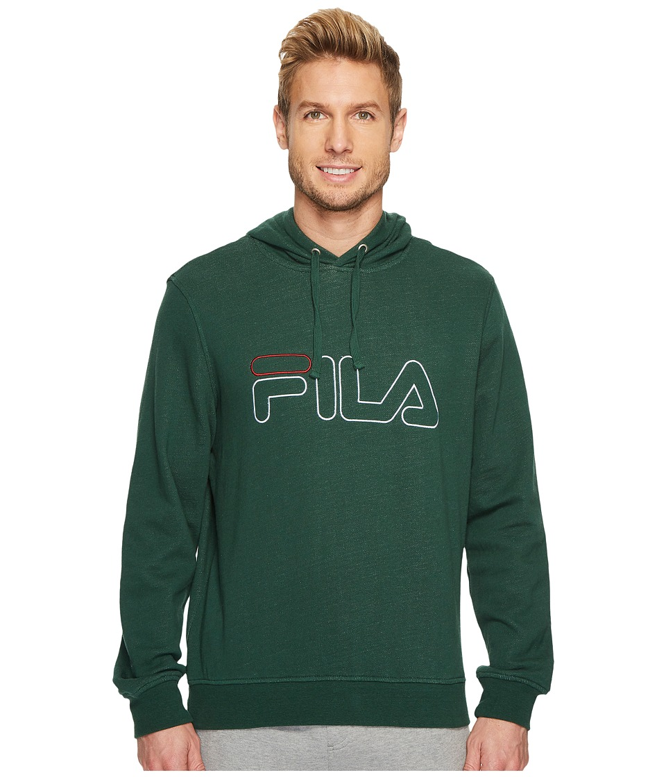 Fila Brooklyn Hoodie (Hunter Green Heather) Men