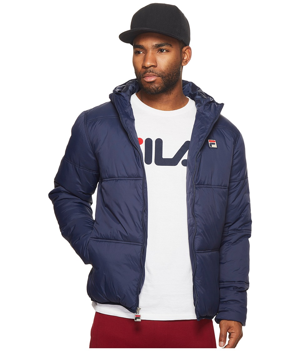 Fila Vincenzi Jacket (Navy) Men's Coat