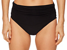 Magicsuit Solid Jersey Bikini Bottom with Shirring