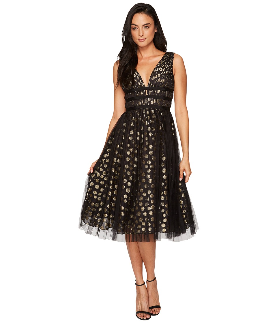 Adrianna Papell - Clip Dot Cocktail Dress