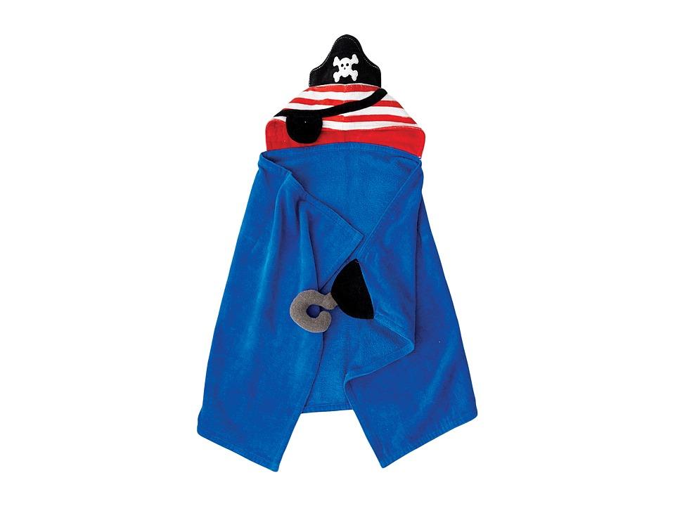 Mud Pie - Pirate Hooded Towel (Blue) Bath Towels
