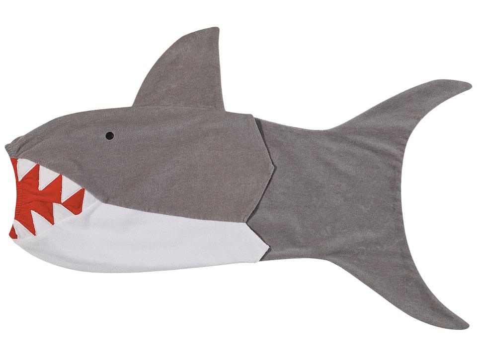Mud Pie - Shark Towel (Gray) Bath Towels