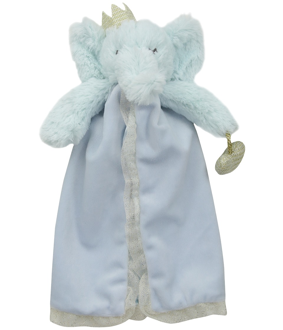 Mud Pie - Elephant Prince Lovie (Blue) Accessories Travel