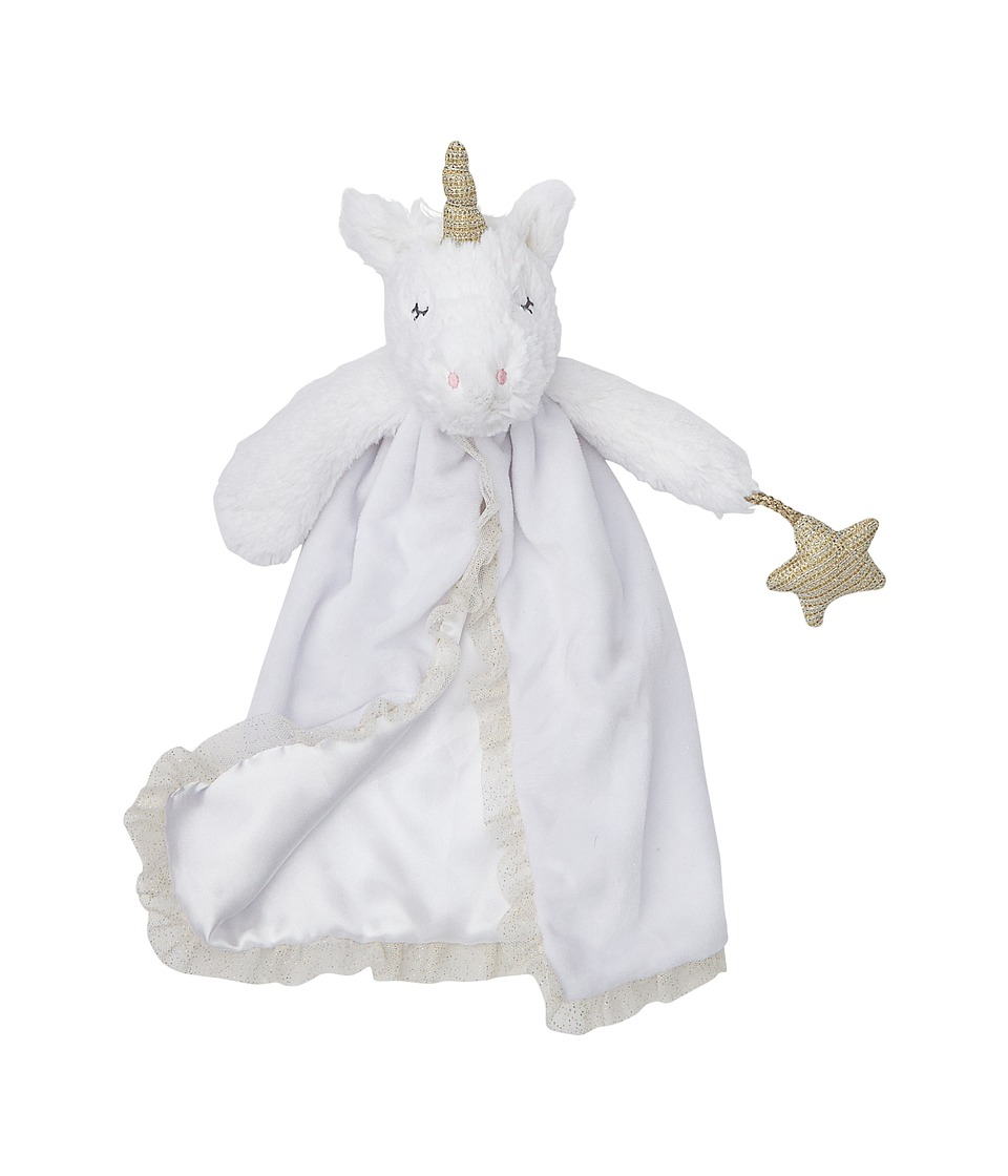 Mud Pie - Unicorn Lovie (White) Accessories Travel