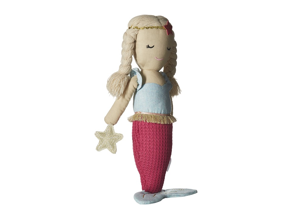 Mud Pie - Plush Mermaid Doll Tail (Hot Pink) Accessories Travel