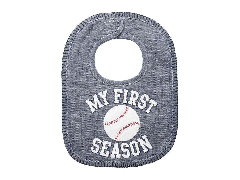 Mud Pie - My 1st Season Bib (Blue) Accessories Travel